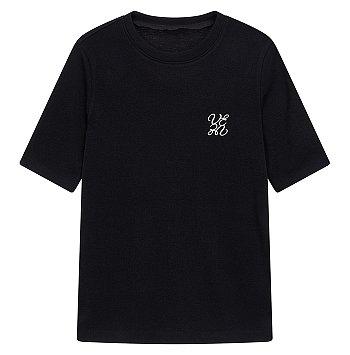 엠브로이더리 로고 티셔츠