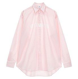 [Vetements] 로고 프린트 셔츠