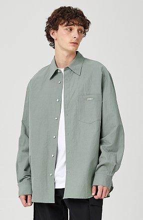 [MEN] 포켓 린넨셔츠