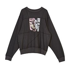 COVER STITCH LONG SLEEVE T-SHIRT