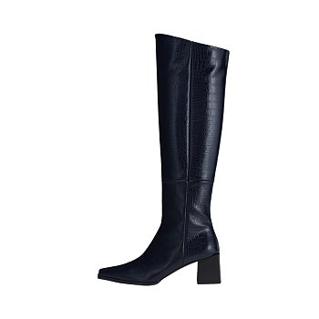 RL4-SH044 / Cube Heel Long Boots