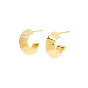 [진세연 착용] BONBON Cutted Hoop Earrings_GOLD