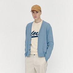 [FW20 CLOVE] Basic Cardigan (Blue)