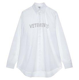 [Vetements] 크리스탈 로고 셔츠