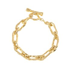 Silhouette Rough Chain Bracelet