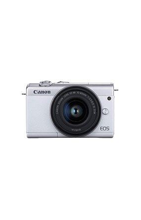 캐논 정품 미러리스 렌즈킷 EOS M200 (White) 15-45 KIT