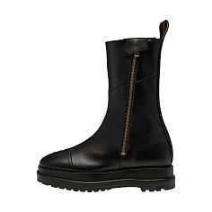 RL4-SH040 / Platform Zip-up Boots