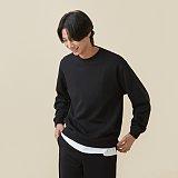 남녀공용 탄탄 스웨트 셔츠