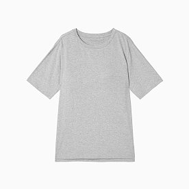 브라탑 코튼 모달 반팔 티셔츠
