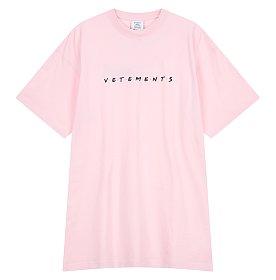 [Vetements] 로고 자수 티셔츠