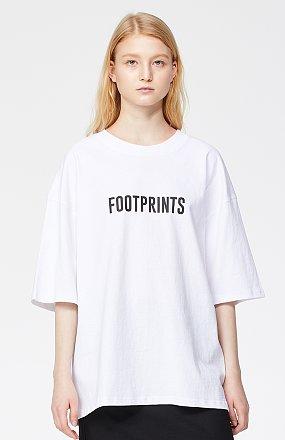 프린트 하프슬리브 티셔츠