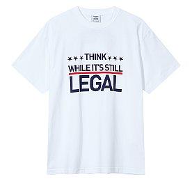 [Vetements] 레터링 그래픽 크루넥 티셔츠