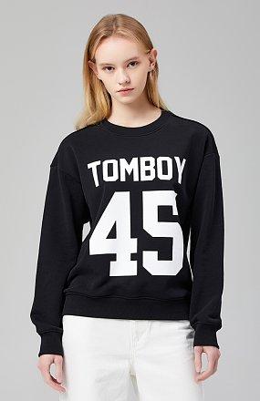 로고45 스웨트셔츠