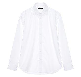 [FORMAL] 평직 와이드 셔츠