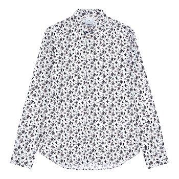 [PS PAUL SMITH] 플라워 패턴 슬림핏 셔츠