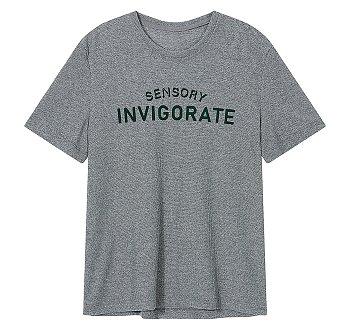 레터링 포인트 메탈 티셔츠