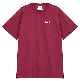 [Vetements] 프린트 포인트 티셔츠